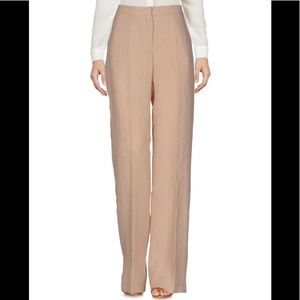 100% linen Wide leg casual work pants trousers